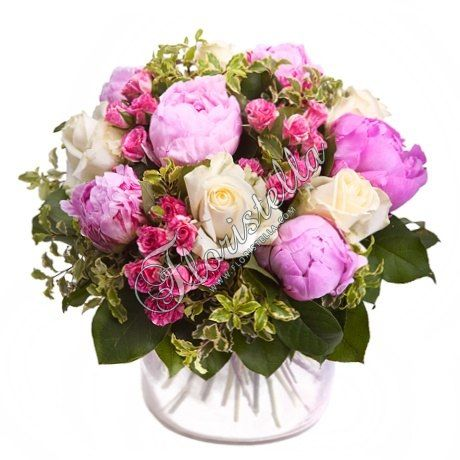 Пион в букете - Тенденции цветочной моды - Цветочный домик Флористелла