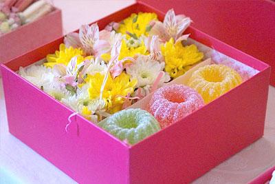 Композиции со сладостями