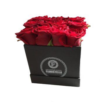 Lovely box Классика с красными розами