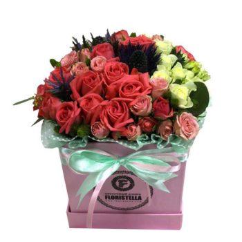 Lovely box Лана со спрей розой и экзотикой