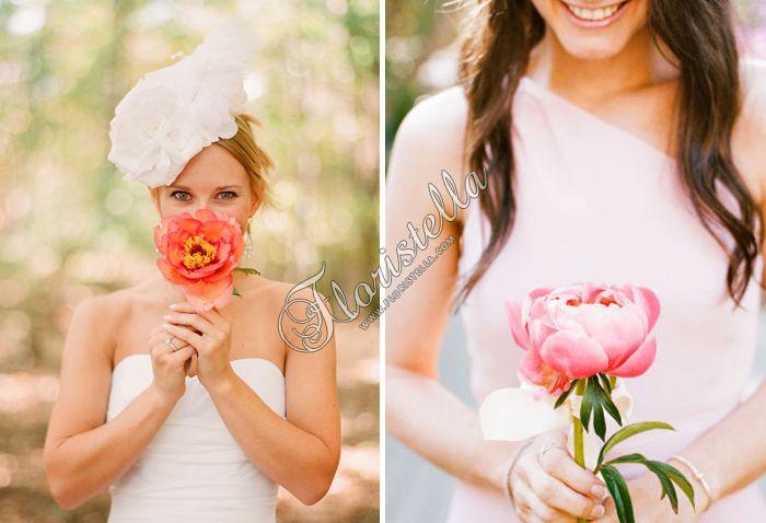 Букет невесты Цветочный домик Флористелла