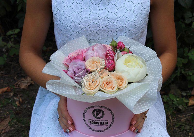 Шляпная коробка в Цветочном домике Floristella