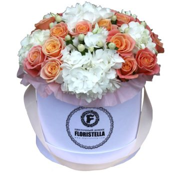 Шляпная коробка Flowers