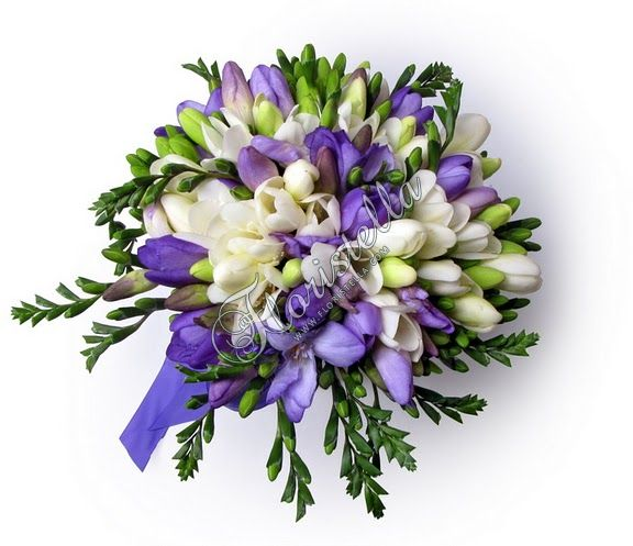 Фрезия в букете - Тенденции цветочной моды - Цветочный домик Флористелла