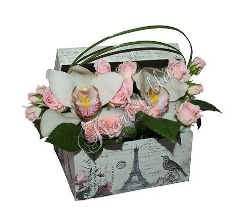 Цветы к коробке - Тенденции цветочной моды - Цветочный домик Флористелла