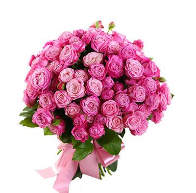 Букет из 35 роз Бомбастик