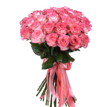 Букет из 35 розовых роз Джамилия