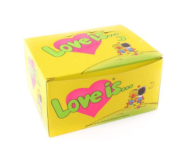 Жевачка love is ананас кокос