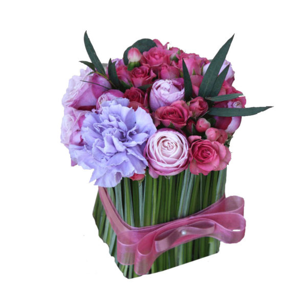 Малиново-лиловый снопик